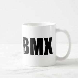 BMX - Es cómo ruedo Taza Básica Blanca