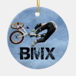 BMX gobierna el ornamento del navidad, Wi de Ornato