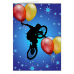 BMX GREETING CARD