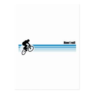 BMX - How I roll Postcard