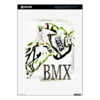 BMX I Pad skin 2,  Copyright Karen J Williams iPad 3 Decal