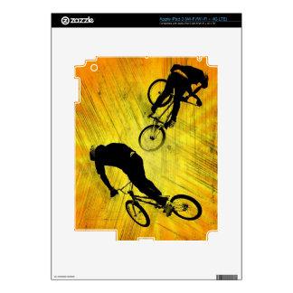 BMX I Pad skin 3,  Copyright Karen J Williams iPad 3 Skin