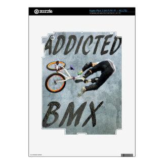 BMX I Pad skin,  Copyright Karen J Williams Skins For iPad 3