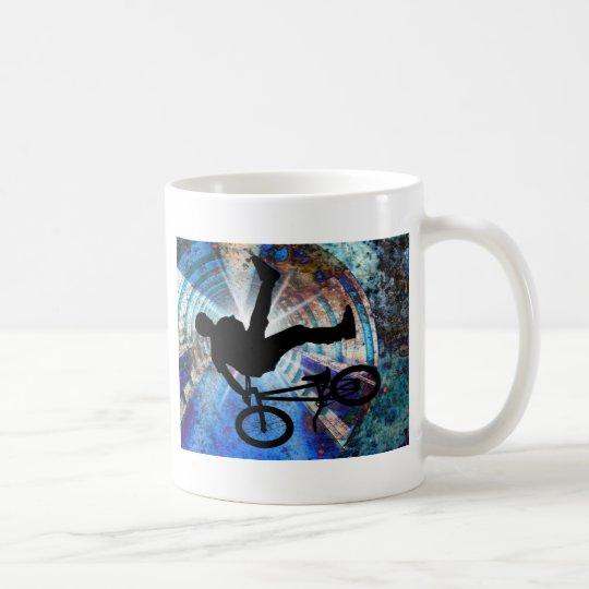 BMX in a Grunge Tunnel Coffee Mug