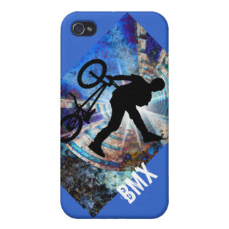 BMX in a Grunge Tunnel iPhone 4 Case