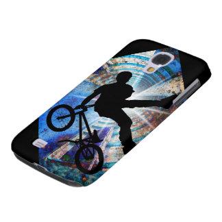 BMX in a Grunge Tunnel Samsung Galaxy S4 Case