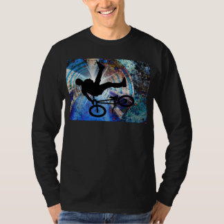 BMX in a Grunge Tunnel T-Shirt