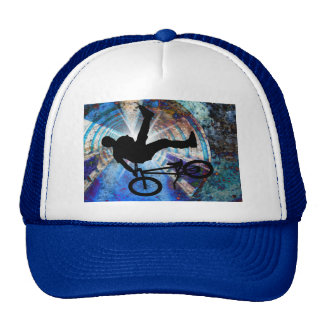 BMX in a Grunge Tunnel Trucker Hat