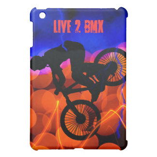 BMX in Light Crystals and Lightning Cover For The iPad Mini
