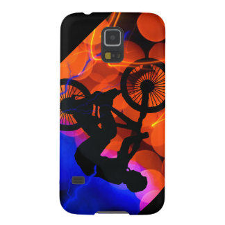 BMX in Light Crystals and Lightning Galaxy S5 Covers