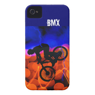 BMX in Light Crystals and Lightning iPhone 4 Case-Mate Cases