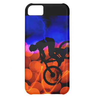 BMX in Light Crystals and Lightning iPhone 5C Case