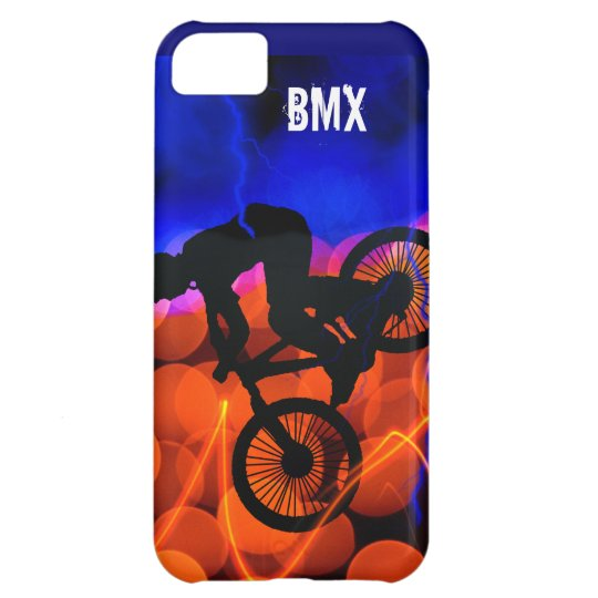 BMX in Light Crystals and Lightning iPhone 5C Cover