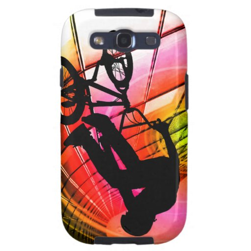 BMX in Lines & Circles Galaxy SIII Cases