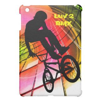 BMX in Lines & Circles iPad Mini Cover