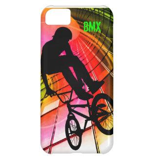 BMX in Lines & Circles iPhone 5C Case