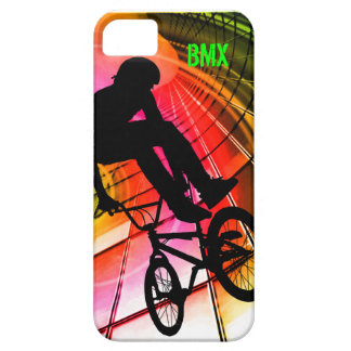 BMX in Lines & Circles iPhone SE/5/5s Case