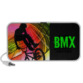 BMX in Lines Circles Travelling Speaker