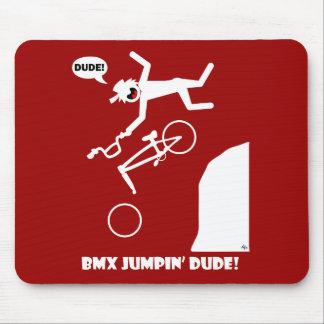 BMX JUMPIN'-25 MOUSE PAD