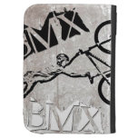 BMX Kindle case 2,  Copyright Karen J Williams