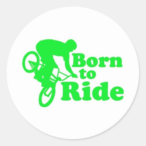 BMX llevado para montar Etiquetas