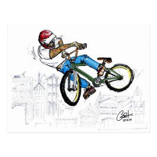 BMX Lookback Postcard