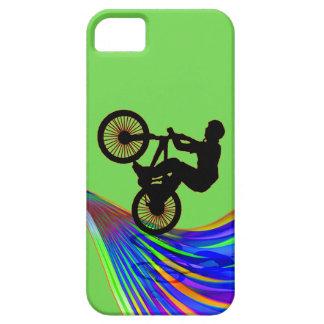 BMX on a Rainbow Road iPhone SE/5/5s Case
