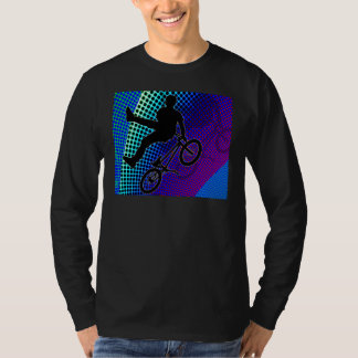 BMX on Fractal Movie Marquee T-Shirt
