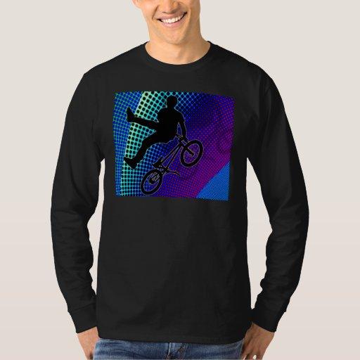 BMX on Fractal Movie Marquee T-Shirt