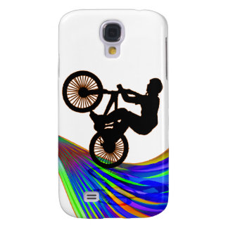 BMX on Rainbow Road Samsung Galaxy S4 Cover
