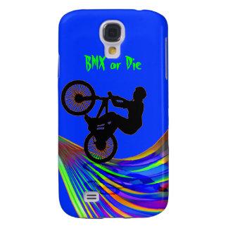 BMX on Rainbow Road Samsung S4 Case