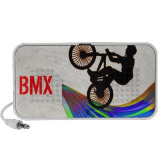 BMX on Rainbow Road iPhone Speakers