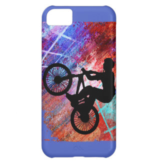 BMX on Rusty Grunge Case For iPhone 5C