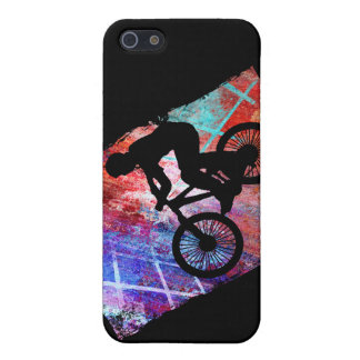 BMX on Rusty Grunge Cover For iPhone SE/5/5s