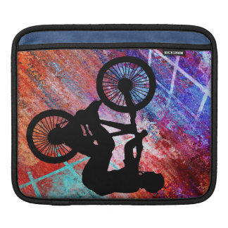 BMX on Rusty Grunge iPad Sleeve