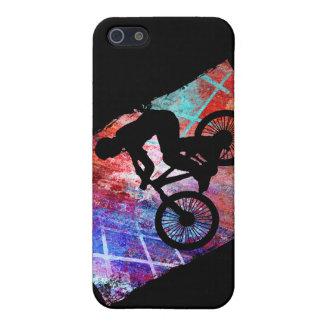 BMX on Rusty Grunge iPhone 5/5S Cases