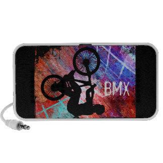 BMX on Rusty Grunge Speaker
