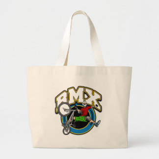 BMX One Handed Trick Tote Bags