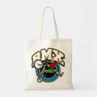 BMX One Handed Trick Tote Bag