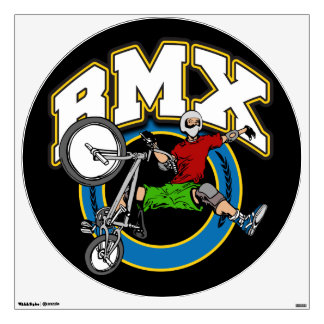 BMX One Handed Trick Wall Sticker