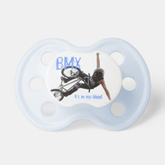 BMX Pacifier, Copyright Karen J Williams Pacifier