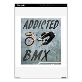 BMX Play station skin, Copyright Karen J Williams Skins For The PS3 Slim