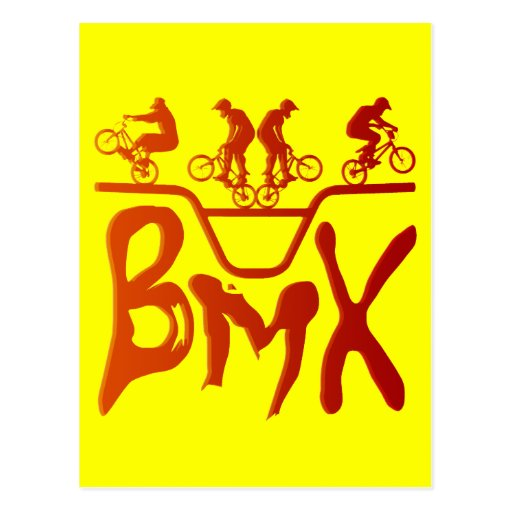 BMX POSTCARD