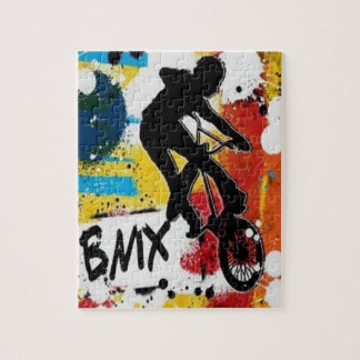 BMX Puzzle with Gift Box