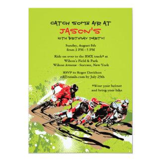 BMX Racers Invitation