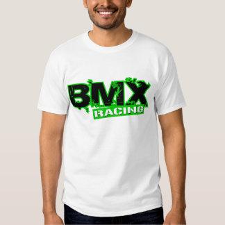 BMX RACING GREEN T SHIRT