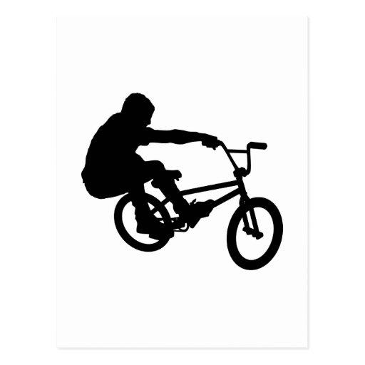 BMX Rider_3 Tarjeta Postal