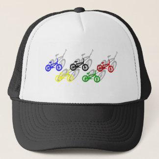 BMX rider bicyle cycling dirt track cyclist Trucker Hat