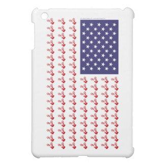BMX Rider - Patriotic American Flag+ Case For The iPad Mini