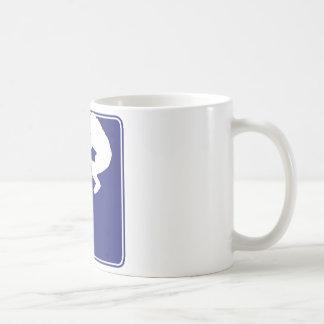 BMX Rider - Red White and Blue Coffee Mug